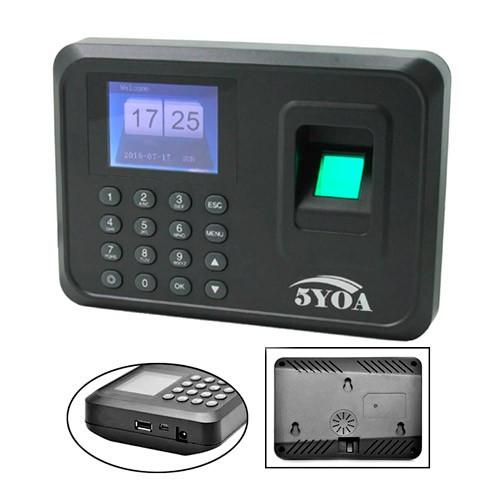 Біометричний термінал контролю доступу СКД за відбитками пальців 5YOA, 101361