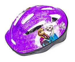 Шлем для детей и подростков фиолетовый