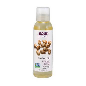 Касторовое масло Now Foods Castor Oil (118 ml)  нау фудс pure