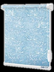 Рулонные шторы Миракл Голубой