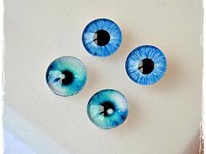 Стеклянные глазки для игрушек своими руками
