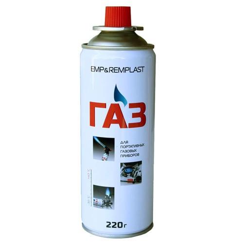 Газовый баллон картридж туристический цанговый, 101714