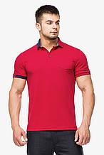 Футболка Поло Braggart мужская - 6073 красный цвет