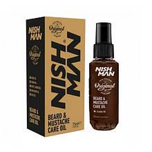 Масло для бороди Nishman Beard & Moustache Oil 75 мл