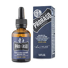 Масло для бороды Proraso Azur Lime Beard oil 30 мл