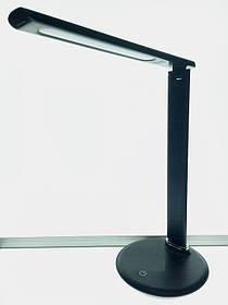 Светодиодная настольная лампа SUNLIGHT SL-245242 10W черная, сенсор, диммер Код.56899