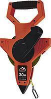 Рулетка измерительная Vulkan 30м геодезическая