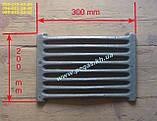 Дверца чугунная печная зольная поддувальная, чугунное литье 135х215 мм., фото 5