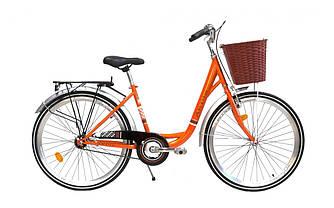 """Жіночий міський велосипед Ardis Lido CTB 26 """"16"""" Помаранчевий"""