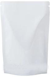 Пакет Дой-Пак белый 80*130 дно (20+20) без zip-замка