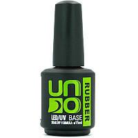 База для ногтей UNO Rubber Base 15 мл каучуковая**