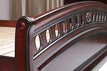 Кровать Флоренция каштан 1,8 (Микс-Мебель ТМ), фото 2