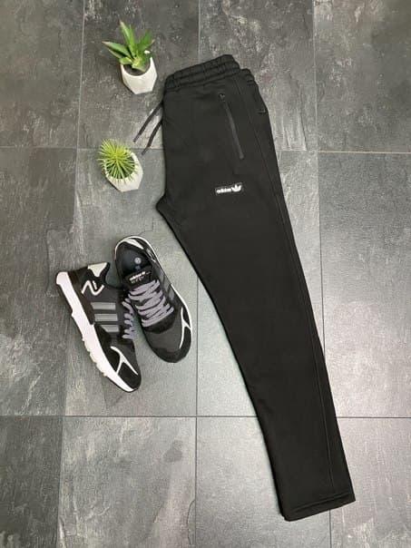 Чоловічі спортивні штани Adidas прямого крою (два кольори)