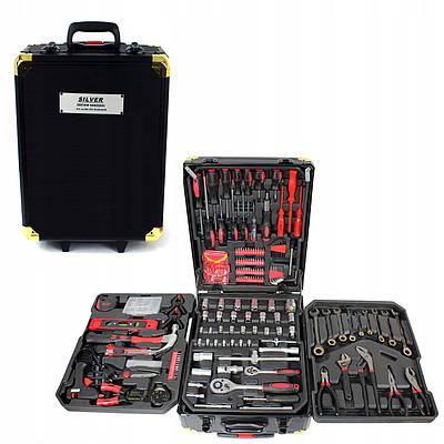 Набор инструментов в чемодане 408 предметов 184730