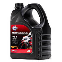 Мотоциклетное масло FUCHS Silkolene PRO 4 10w-60 (4л.) для 4-тактных двигателей