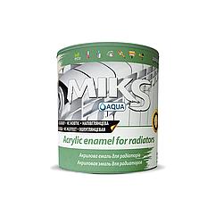 Акриловая радиаторная эмаль Микс 2.5л
