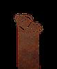 Надгробие из металла 40*81см*8мм. Мемориальная плита, памятник Детский 08
