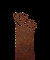 Надгробие из металла 40*81см*8мм. Мемориальная плита, памятник Детский 08, фото 1