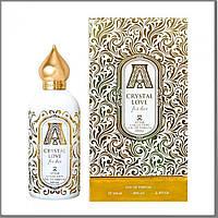 Attar Collection Crystal Love for Her парфюмированная вода 100 ml. (Аттар Колекшн Кристальная любовь к ней)