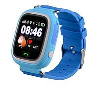 Розумні дитячі годинник Smart Baby Watch Q90 з GPS трекером, блакитні, фото 1