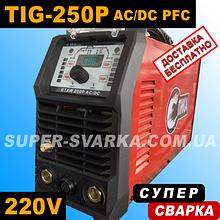 Спика GTAW TIG-250AC DC PFC аргоновая сварка