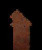 Надгробие из металла Детские 24 Сталь Сorten 6 мм