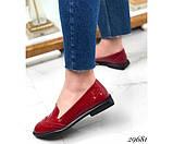 Туфли лоферы с квадратным каблуком, фото 5