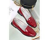 Туфли лоферы с квадратным каблуком, фото 6