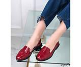 Туфли лоферы с квадратным каблуком, фото 4