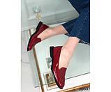 Туфли лоферы с квадратным каблуком, фото 3
