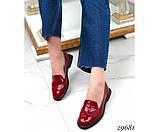 Туфли лоферы с квадратным каблуком, фото 2