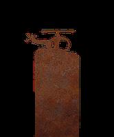 Надгробие из металла 30*81см*8мм. Мемориальная плита, памятник Детский 16, фото 1