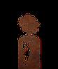 Надгробие из металла Детские 31 Сталь Сorten 6 мм
