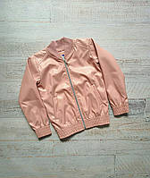 Детская кожаная куртка на молнии Косуха Эко кожа размер: 122, 128, 134, 140, 146, 152