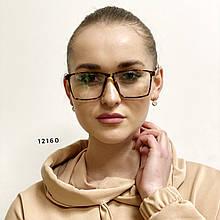 Имиджевые очки в трендвой оправе (антиблик)