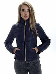 Куртка женская весна Irvik ZS151 синяя