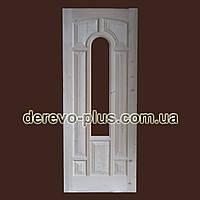 Двері з масиву дерева 80см (під скло) s_1280