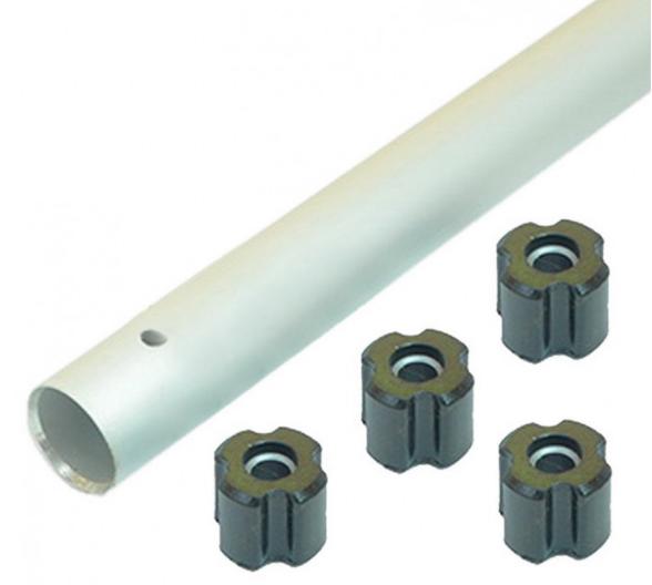 Труба для мотокосы d=28 мм (со втулками)