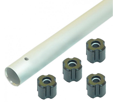Труба для мотокосы d=28 мм (со втулками), фото 2