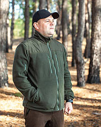 Флисовая кофта для рыбалки, флисовая кофта для охоты, флисовая кофта Fisher