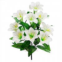 Букет лилии на 9 голов ( в упаковке 16 шт) продается упаковкой Искусственные цветы оптом