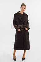 Пальто шерстяное удлиненное 04617 - длина 114 см