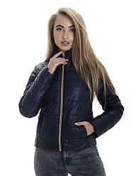 Куртка женская весна Irvik ZS152 черная