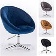 Крісло 8516 велюр колір на вибір з каталогу., фото 3