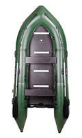Надувная лодка из пвх Барк Bn-330s четырехместная моторная