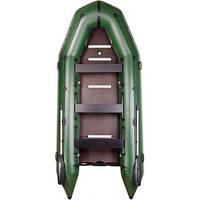 Надувная лодка из пвх Барк Bt-420s шестиместная моторная килевая