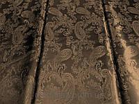 Подкладка вискозная Огурцы (капучино) (арт. 03148) отрезы 1,3 м