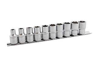 """Набір головок шестигранних 1/2"""" Mastertool - 10 шт. (10-24 мм) (78-1211), (Оригінал)"""