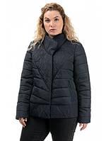Женская деми куртка красивая размер 50-56, фото 1