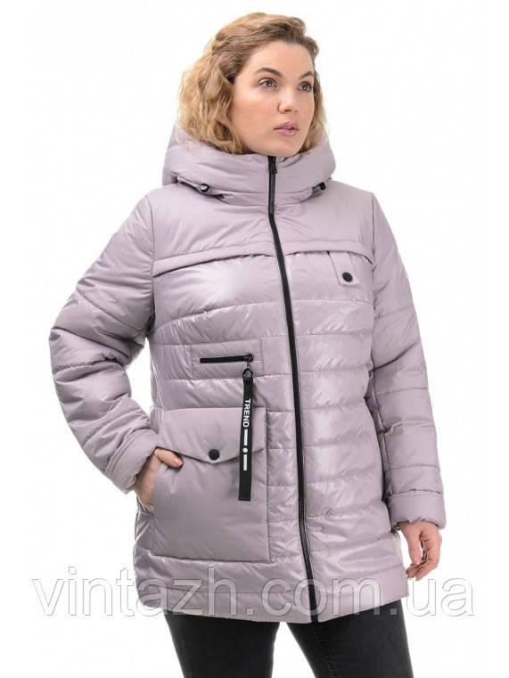 Весенняя модная куртка для женщин размер 50-56